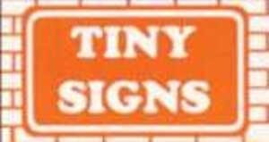 Tiny Signs