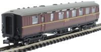 Dapol 2P-011-372 Gresley Buffet E9035E in BR maroon