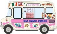 Oxford Diecast 43CF005 Bedford CF Ice Cream Van C J Copner