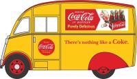 """Oxford Diecast 76CM010CC Commer Q25 Van """"Coca Cola"""""""
