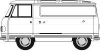 Oxford Diecast 76PB011 Commer PB White