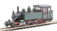 "Heljan 9982 Lynton & Barnstaple Baldwin 2-4-2T ""Lyn"" in L&B dark green (post-1906)"