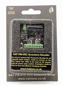 Hattons Essentials HAT-PM-DEC Digital Solenoid Point Motor Decoder