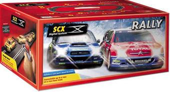 10010SCX Rally Digital racing set