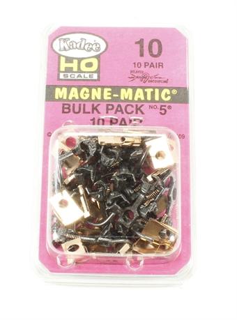 10KADEE No.5 Standard Magne-Matic Coupler - Medium 9/32'' (Pack of twenty)