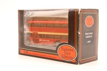 "13907-PO33 Bristol Lodekka (Type A) - ""Cumberland"" - Pre-owned - Good box"