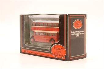 """15906-PO14 Leyland PD1 Highbridge - """"Lancashire United"""" - Pre-owned - Good box"""