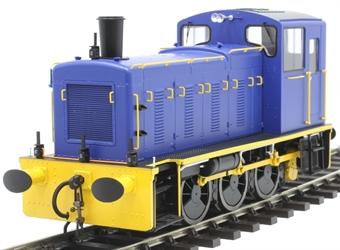 2059 Class 03 shunter in Industrial dark blue