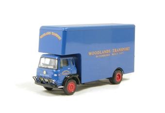 """23605 Bedford TK Luton van """"Woodlands Transport Tunbridge Wells"""""""