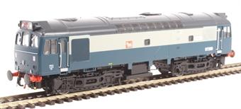2540 Class 25/3 ETHEL train heating unit ADB97250 in BR blue and grey - unmotorised
