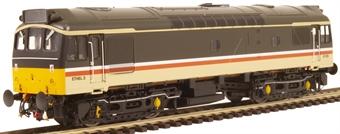 2541 Class 25/3 ETHEL train heating unit ADB97252 in Intercity livery - unmotorised