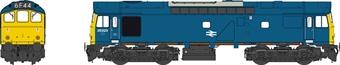 2549 Class 25 25323 in BR blue (pre-1976 style)
