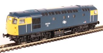 2658 Class 26/0 26014 in BR blue