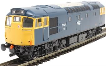 2715 Class 27 27104 in BR blue