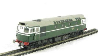 2720 Class 27 BRCW Sulzer diesel D5356 in original BR green