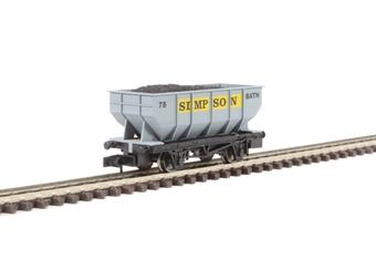 """2F-034-033 20T Steel hopper wagon """"Simpson"""""""