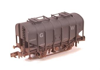 2F-036-024 4-wheel bulk grain hopper 42314 in GWR livery - weathered
