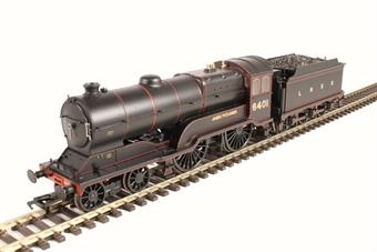 "31-137A Class D11/2 4-4-0 6401 ""James Fitzjames"" in LNER black"