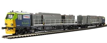 31-575 Windhoff MPV Multi-Purpose master and slave units in 'Network Rail' livery