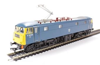 31-677 Class 85 (AL5) Bo-Bo Electric E3056 in BR Blue with single pantograph.