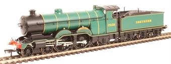 "31-911SF Class H1 Atlantic 4-4-2 2038 ""Portland Bill"" in SR malachite green - Digital sound fitted"