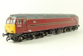 32-752Z Class 57 57601 in West Coast Railways Maroon - Model Rail Ltd Edition