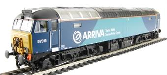 32-755 Class 57/3 57315 in Arriva Trains Wales/Trenau Arriva Cymru Livery