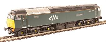 "32-756A Class 57/6 57602 ""Restormel Castle"" in GWR green"