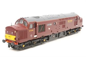 32-780V-PO04 Class 37 37248 'Loch Arkaig' West Coast Railways Maroon - Model Rail Limited Edition - Pre-owned - very good box