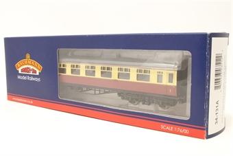34-131A-PO11 Collett 60ft 1st/2nd composite in BR crimson & cream - Pre-owned - Good box