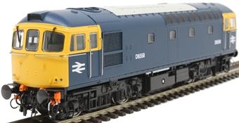 3437 Class 33/0 D6558 in BR blue