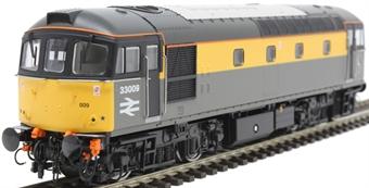 3439 Class 33/0 33009 in Civil Engineers 'Dutch'