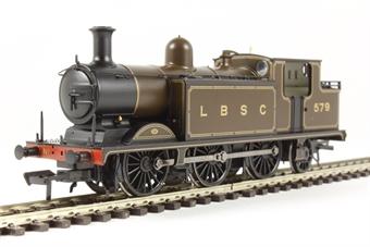 35-075 Class E4 Brighton tank 0-6-2 579 in LB&SCR umber