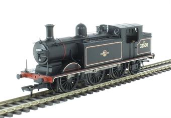 35-078 Class E4 Brighton tank 0-6-2 32500 in BR black with late crest