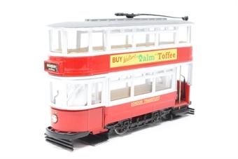 36701Corgi-PO12 Fully Enclosed Tram - London Transport - Pre-owned - Good box