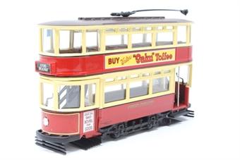 36708Corgi-PO07 Tramway Classics Series - Fully Enclosed Tram - London Transport - Pre-owned - Good box