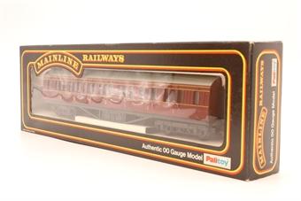 37109-PO75 57' 1st/3rd Corridor 3621 LMS Crimson - Pre-owned - Good box