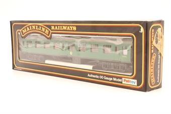 37121-PO16 BR Mk1 Corridor 2nd S25915 SK in BR Green - Pre-owned - Good box
