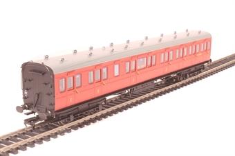 39-612 60' ex-SECR Birdcage composite S5468S in BR crimson