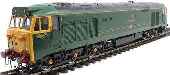 """4024 Class 50 50007 """"Sir Edward Elgar"""" in GWR green"""