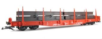41923 DB Cargo Flatcar w. TT beams