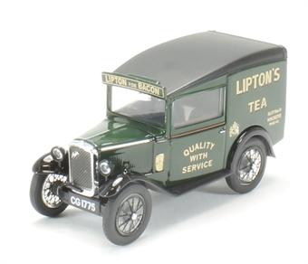 43ASV003 Austin Seven RN Van Liptons Tea