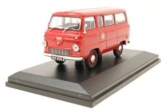 43FDE005-PO Ford 400E Thames Minibus London Fire Brigade - Pre-owned - Good box