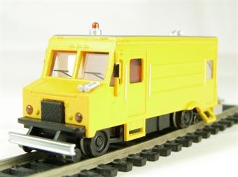 46204 American maintenance of way step van with high railers