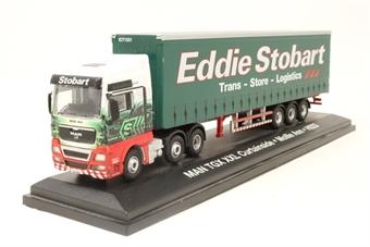 """4649106-PO14 Eddie Stobart MAN TGX XXL Curtain Side """"Mollie Ann - Pre-owned - Good box"""