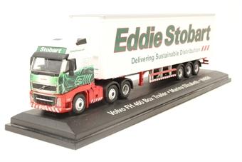 "4649117-PO17 Volvo FH 460 Box Trailer ""Eddie Stobart"" - Pre-owned - Good box"