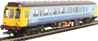 4D-009-008 Class 121 single car DMU 'Bubblecar' 55032 in Midline West Midlands livery