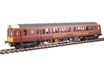 4D-009-HAT06 Class 121 single car DMU 'Bubblecar' 960010 in Railtrack 'coaching stock' maroon - Hatton's limited edition
