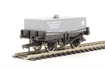 "4F-032-009 Rectangular tank wagon ""Clare, Liverpool"""
