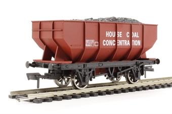 "4F-034-005 21 ton hopper wagon ""House Coal Conc #B429911"""